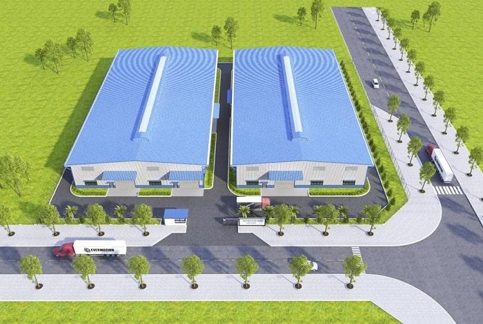 Mẫu thiết kế Nhà xưởng công ty VDA - HCM