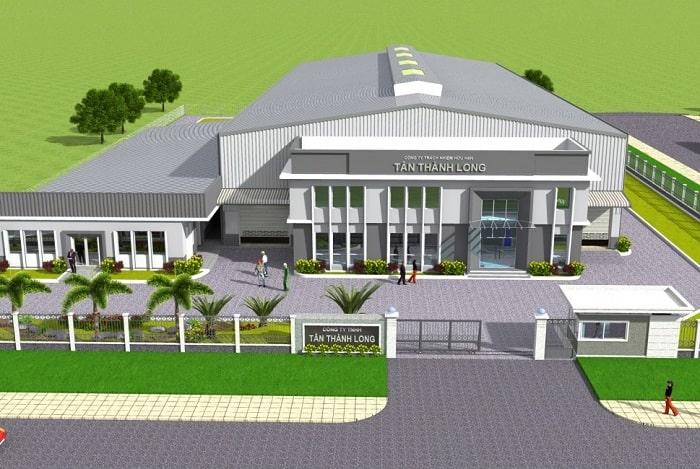 Mẫu thiết kế Nhà máy Tân Thành Long