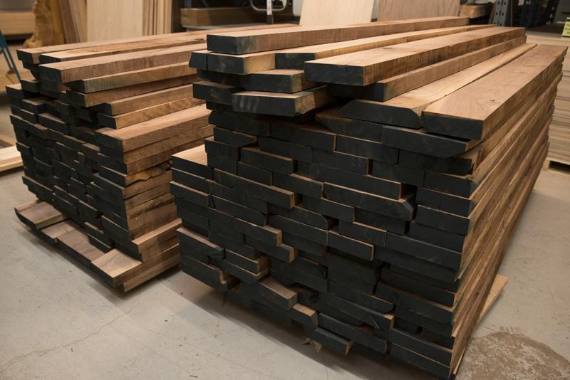 gỗ óc chó thành khí