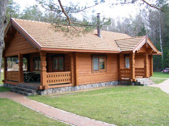 mẫu nhà cấp 4 bằng gỗ