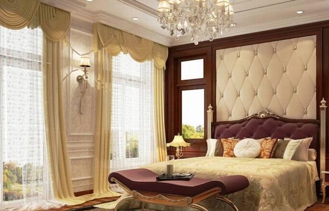 phòng ngủ đẹp biệt thự tân cổ điển 3 tầng 15x19m